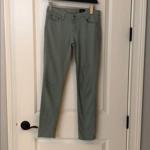 AG Jeans Stevie Ankle ZIP Size 25